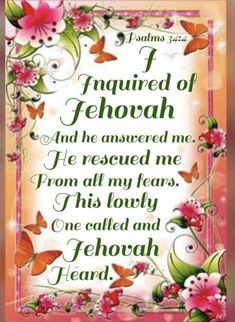 Jehovah Witness, Jehovah S Witnesses, Bible Psalms, Bible Scriptures, Christian Living, Christian Life, Everyday Quotes, Spiritual Thoughts, 2 Timothy