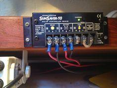 install solar panel for boat