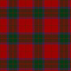 Robertson Clan Tartan #1 - my family tartan