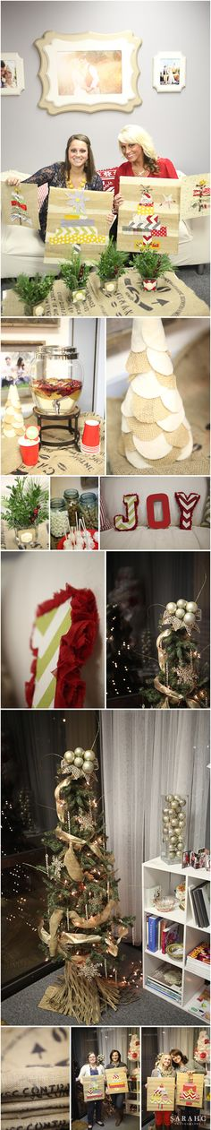 Christmas Pinterest Party. Party Planning by @KD Eustaquio Stooksbury. Photos by Sarah C. Photography.