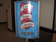 Love your Library, poster