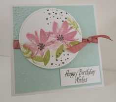 Personally Yours: Stampin' Up! Avant Garden Sale-A-Bration Stamp Set