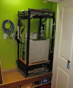 DIY Server Rack Pinterest Tech