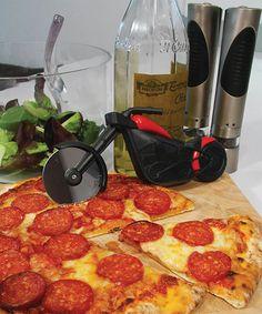 Look at this #zulilyfind! Pizza Chopper Motorbike Pizza Cutter by Paladone #zulilyfinds