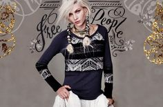 The holiday's are coming so it's time to get embellished and plan that party look with Free People's November Catalog.
