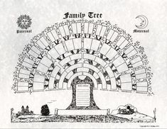 This site is about free family tree services to discover your family history and ancestry. You get the full set of services for free right from the start Genealogy Forms, Genealogy Chart, Family Genealogy, Genealogy Sites, Family Tree Poster, Family Tree Art, Family Tree Diagram, Tree Templates, Family Research
