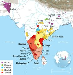 Dravidian language family is approximately 4,500 years old