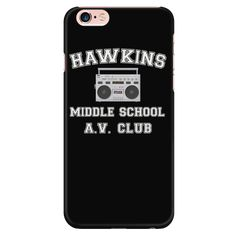 Stranger Hawkins Middle School Smart Phone Case for Women Men Kids Things A V Club - Ankita Tiwari - Handytasche Stranger Things Phone Case, Eleven Stranger Things, Stranger Things Netflix, Iphone 7 Phone Cases, Funny Phone Cases, Awesome Phone Cases, Cellphone Case, Stranger Things Merchandise, Best Smartphone