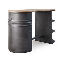 mange debout style industriel Home Accents, Home Decor, Decoration, Unique, Grey, Master Bathroom Vanity, Furniture Ideas, Decor, Decorating
