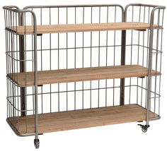 Small Shelf Unit on Wheels - Complete Pad ® Small Shelves, Storage Shelves, Kitchen Utility Cart, Home Office Uk, Danish House, Etagere Design, Printer Stand, Kitchen Utilities, Industrial Shelving