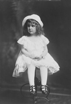 Born in Texas on December 22, 1912, Claudia Alta Taylor, known from an early age as Lady Bird was three years old when this portrait was made. Lady Bird married Lyndon Baines Johnson in 1934.