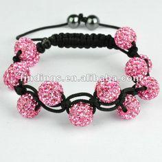 Pink Shamballa Swarovski. Henrietta Horváth 9e0398700