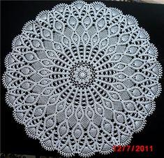 Осинка Crochet Bedspread, Crochet Motif, Crochet Doilies, Crochet Patterns, Crochet With Cotton Yarn, Mandala, Outdoor Blanket, How To Make, Pictures