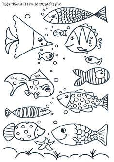 Broutilles de poissons