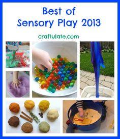 Best of Sensory Play 2013 - Craftulate