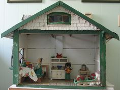 Homemade Australian Leadlight House ca 1920s by Rebecca's Collections, via Flickr