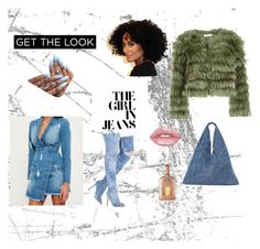 She Loves Denim!!! by tyika-k-harvest on Polyvore featuring polyvore, fashion, style, Missguided, Alice + Olivia, MM6 Maison Margiela, Lime Crime, Tom Ford, Clayton and clothing