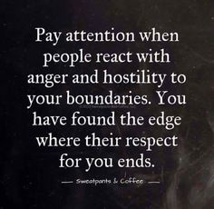 Boundaries are needed with narcissistic individuals