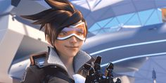 Overwatch - Tracer GIF