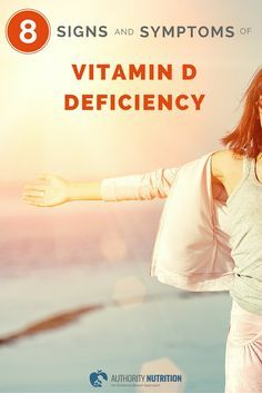 Here are eight signs or symptoms that you may have a vitamin d deficiency. This is one of the most common nutrient deficiencies in the world. Learn more here: https://authoritynutrition.com/vitamin-d-deficiency-symptoms/