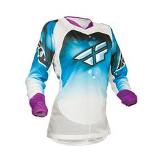 Fly Racing Women's Kinetic Jersey at RevZilla.com