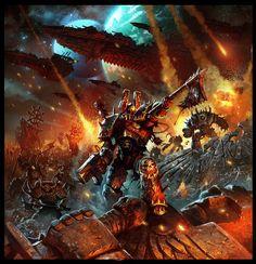Chaos (Wh 40000) :: Warhammer 40000 (warhammer40000, warhammer40k, warhammer 40k, ваха, сорокотысячник) :: chaos inthe imperium :: Relic Nemesis :: Mandrykart :: Кликабельно :: фэндомы / красивые картинки и арты, гифки, прикольные комиксы, интересные статьи по теме.