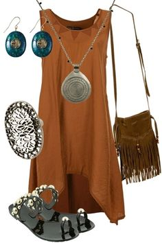 love the boho look...more or less my style...I like this look alot -comfy   fashion = I'm in!