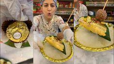 Street Food India, Indian Street Food, Rainbow Centerpiece, Fresh Rolls, The Creator, Chocolate, Ethnic Recipes, Chocolates, Brown