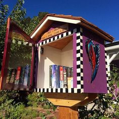 Little Free Library on Sumner and Effey