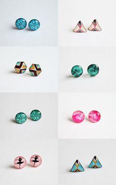 Kadrizinha by Kadri on Etsy--Pinned with TreasuryPin.com #earrings #unique #gifts #original