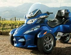 Can-Am Spyder RT-S Roadster, 2012