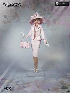 Tenue Outfit Accessoires Pour Fashion Royalty Barbie Silkstone Vintage 1477 | eBay