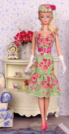 Fresh Bouquet for Silkstone Barbies by HankieChic on Etsy