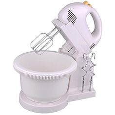 5 Speed 200W Power Hand Stand Mixer Kitchen Egg Beater wFree Bowl Dough Hooks >>> ** AMAZON BEST BUY **
