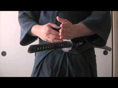 """Iaido tutorial on performing noto to return the sword. 2 versions of noto are contained herein. horizontal and vertical. more commonly found in Muso Shinden Ryu, and Muso Jikiden Eishin Ryu respectively."""