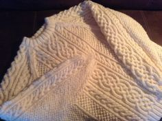 Ravelry: Design D - Unisex Aran Sweater pattern by Sirdar Spinning Ltd. Aran Knitting Patterns, Free Knitting, Celtic, Knitted Blankets, Baby Booties, Ravelry, Men Sweater, Spinning, Unisex