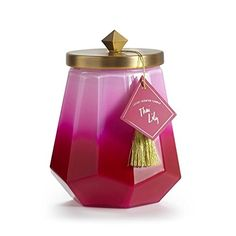 ILLUME LAUREL GLASS THAI LILY CANDLE 19.4OZ
