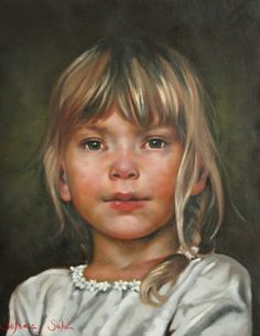 Pastel Portraits, Baby Drawing, Girls Characters, Female Images, Painting For Kids, Portrait Art, Beautiful Children, Face Art, Pastels