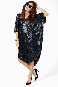 Black Prism Sequin Dress The Best of Vintage | Big Fashion Show sequined dresses