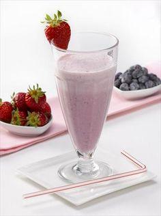Shake evaporado de berries | Recetas | Nestlé Contigo