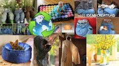 175 idées pour recycler de vieux vêtements - Des idées