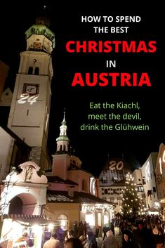 Christmas in Austria is as real as it gets. This guide tells you everything you need to know about the traditions, the markets, and what to eat and drink. Road Trip Europe, Europe Travel Guide, Travel Guides, Travel Destinations, Salzburg, Travel Couple, Family Travel, Vacation Ideas, Austria Travel