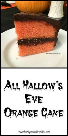 All Hallow's Eve Orange Cake combines the classic flavors of chocolate and orange. Halloween Desserts, Halloween Cakes, Halloween Diy, Best Cake Recipes, Dessert Recipes, Valentines Day Cakes, Friend Recipe, Cake Gallery, Best Dishes
