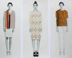 graduate collection>>visualisations by Anna Duthie - textile designer  All creative work copyright © Anna Duthie 2012