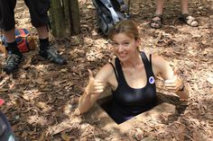 One of the best attractions near Ho Chi Minh City must be Cu Chi Tunnels. Read this post to know how to travel from Ho Chi Minh to Cu Chi Tunnels. Vietnam Destinations, Travel Tours, Travel Guide, Ho Chi Minh City, Day Trip, Bra, Package Tours, Tropical, Women