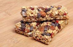 Organic Granola Bars- Three Recipes including with Coconut oil