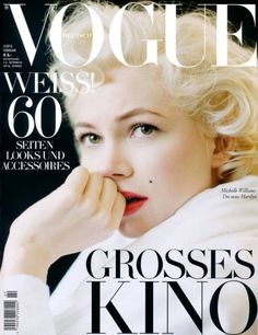 Michelle Williams Covers Vogue Germany February 2012