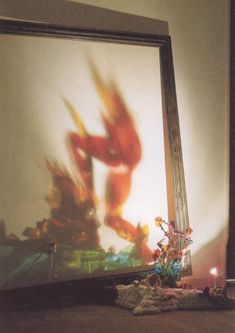 """Diet Wiegman, """"Vulcanus"""" light sculpture"""
