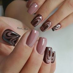 25 Most Favorite Square Nail Designs for Teenager - Saggno Fancy Nail Art, Pretty Nail Art, Fancy Nails, Pink Nails, Cute Nails, Gel Nails, Manicures, Elegant Nail Designs, Beautiful Nail Designs