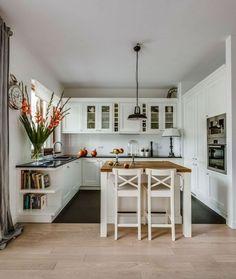 New Kitchen Remodel Plans Beautiful Ideas New Kitchen, Kitchen Decor, Kitchen Ideas, Kitchen Planning, Rustic Kitchen, Küchen Design, House Design, Design Ideas, White Kitchen Cabinets